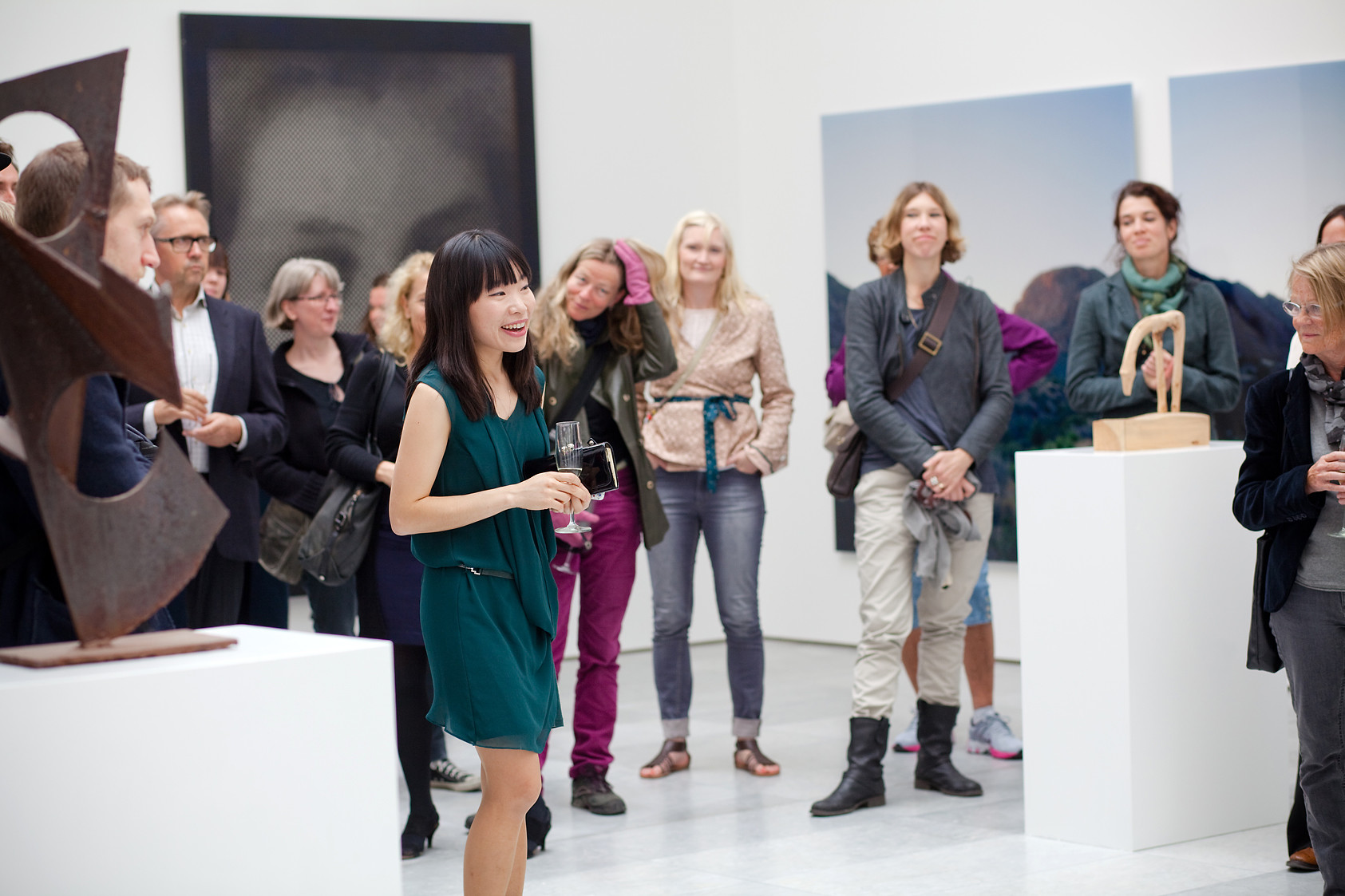 Exhibition opening // Eemuyn Kang // TKM Bispegata // 2012
