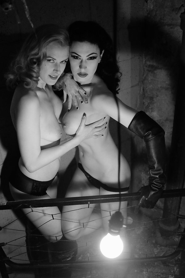 Bettina May & Loulou D'vil