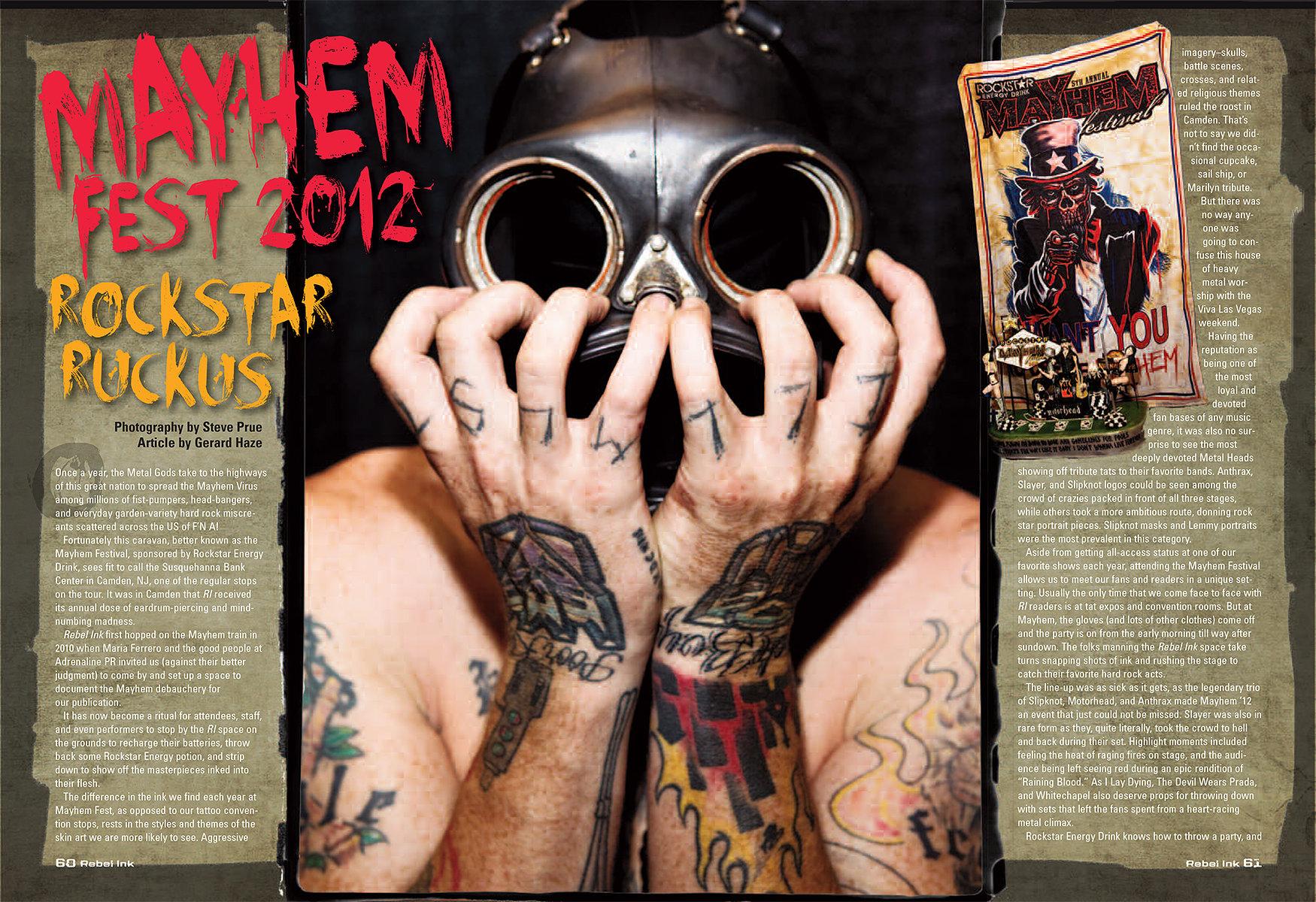 Mayhem Fest 2012