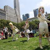 Cirque Du Soile-Broadway in Bryant Park