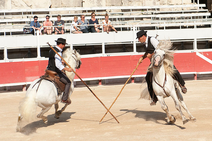 Arenas d'Arles Gardians Carmargue