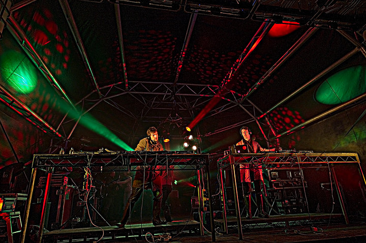 DJs Cubehenge