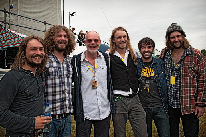 Bob Harris with The Travelling Band - Cropredy 2011