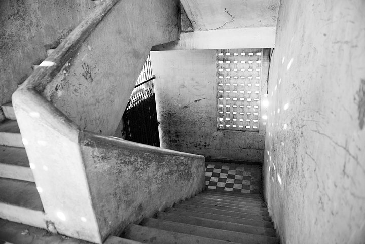 Stairwell B Building