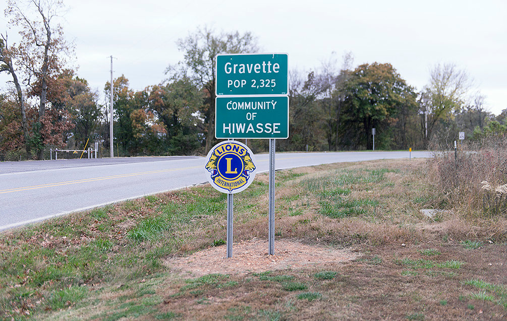 Gravette and Hiwasse