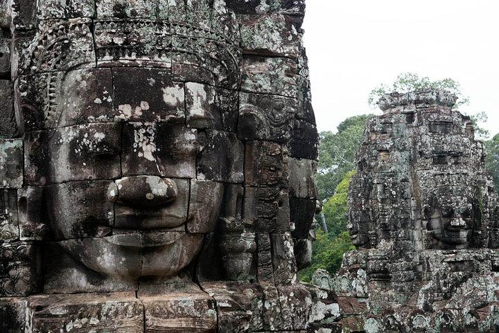 Angkor Thom Buddhas