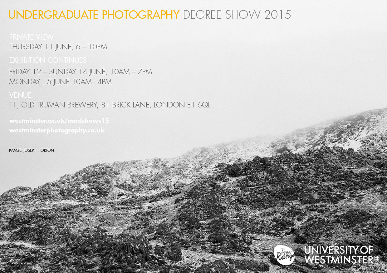 Degree Show featuring the Gravette Project