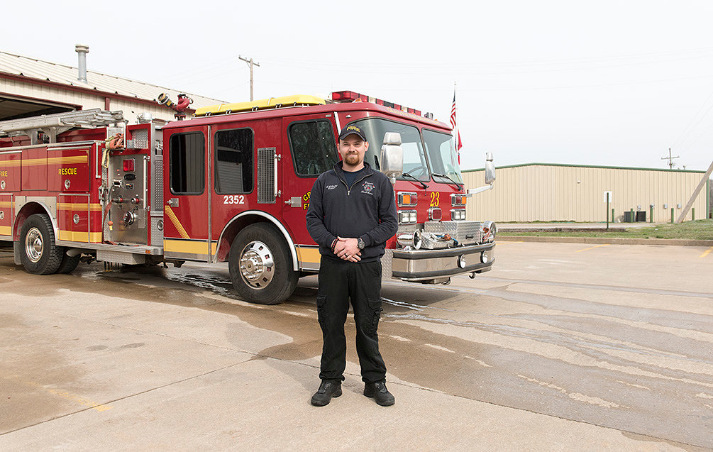 Spencer Gillming Fire Fighter