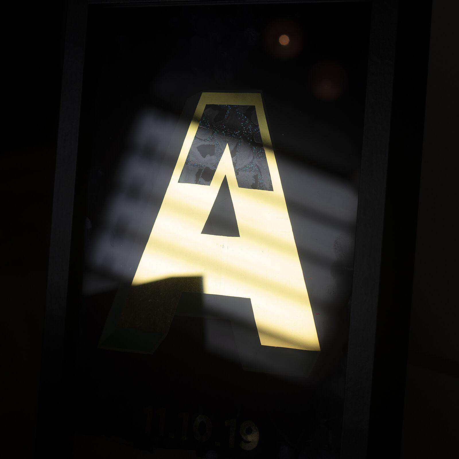Personalised 23.5kt Gold Leaf Letters